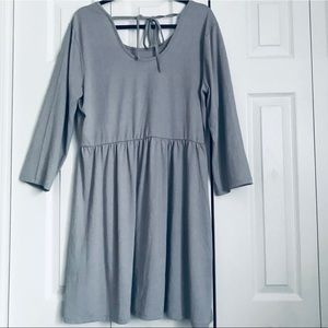 Maurices T-Shirt Back Tie Dress